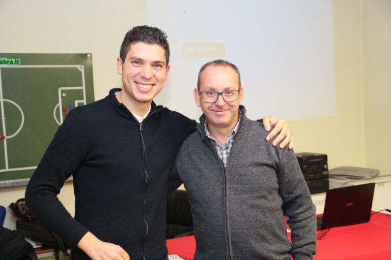 Riunione tecnica con l'assistente Riccardo Annaloro della CAN B