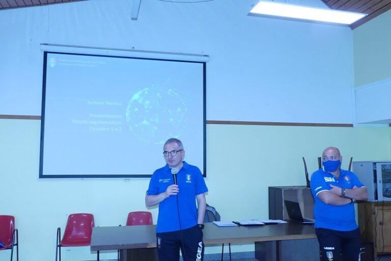 Arbitri e osservatori di Futsal pronti alla nuova Stagione