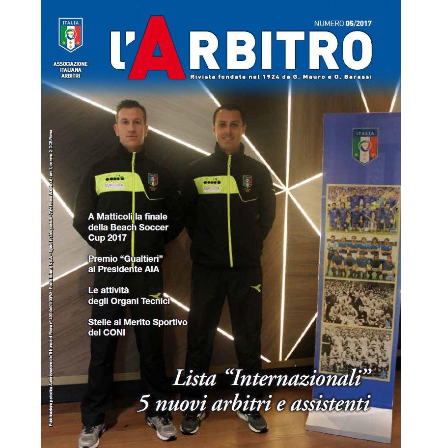 L'Arbitro 05/2017