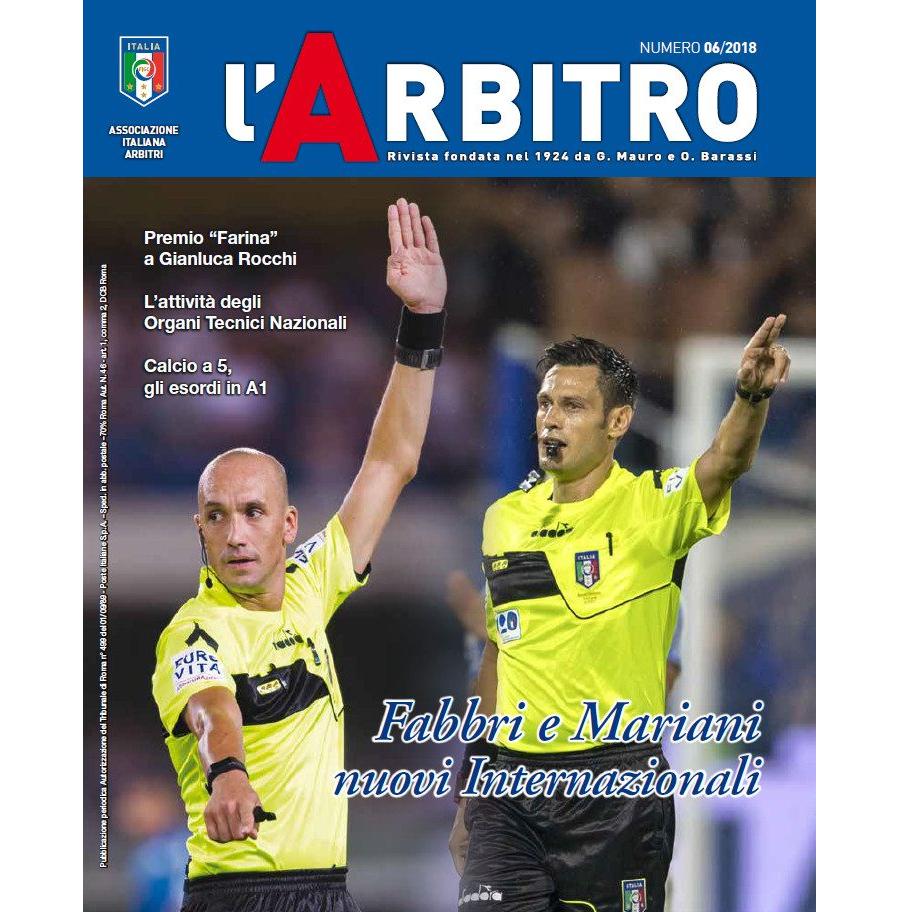 L'Arbitro 06/2018